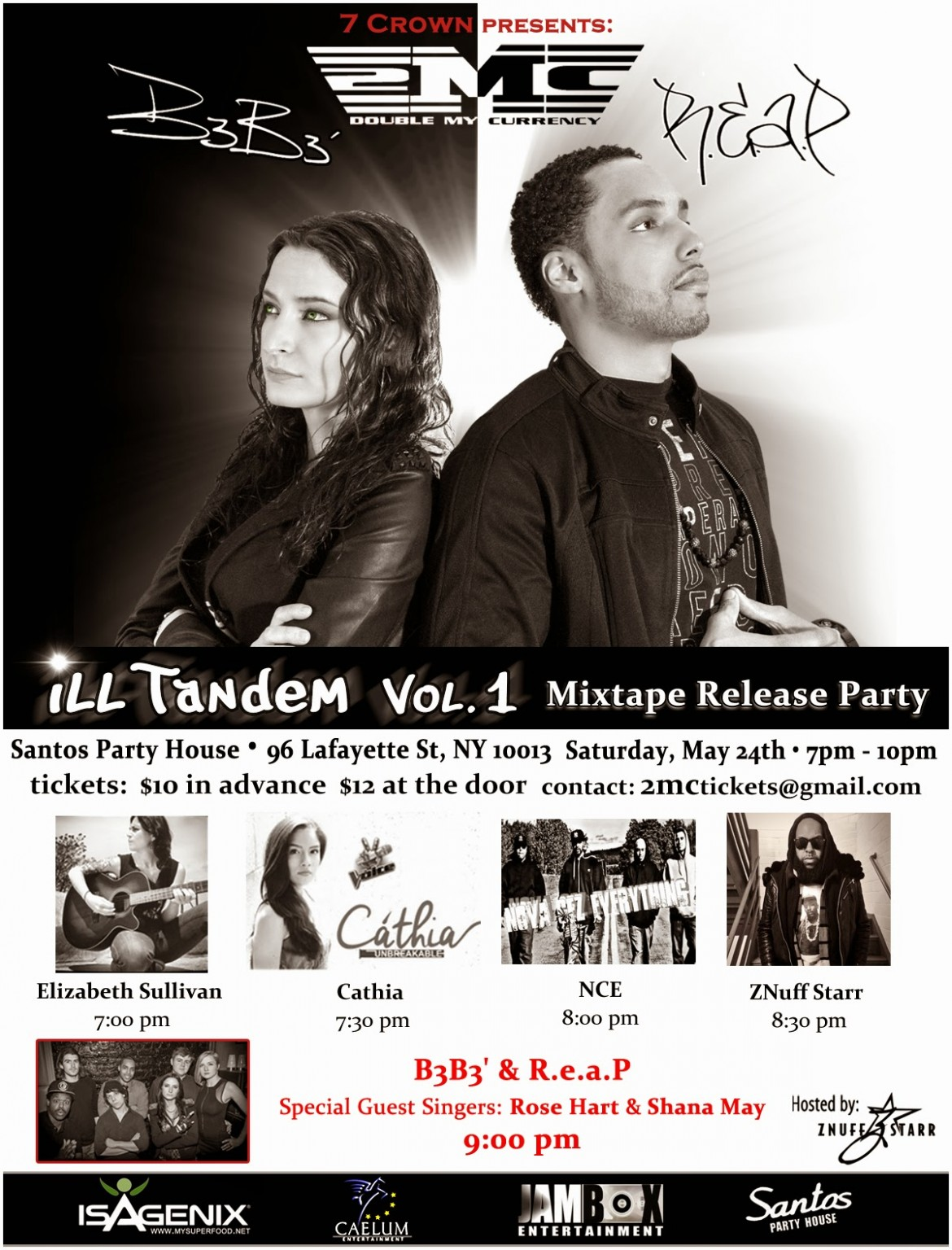 iLL Tandem Mixtape Release Party